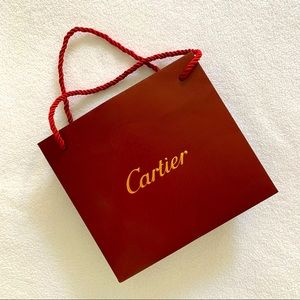 CARTIER store bought jewelry bag